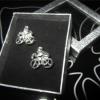 Запонки  «велосипед»